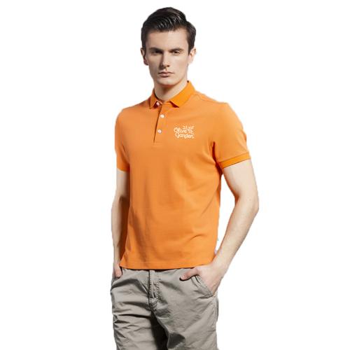 Breathable European Mens Polo Shirt