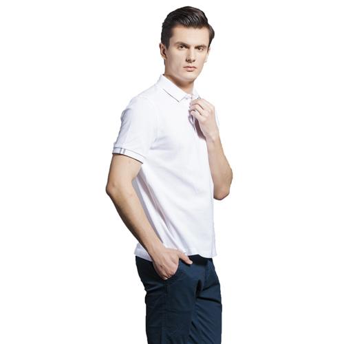 Breathable European Mens Polo Shirt Image 1