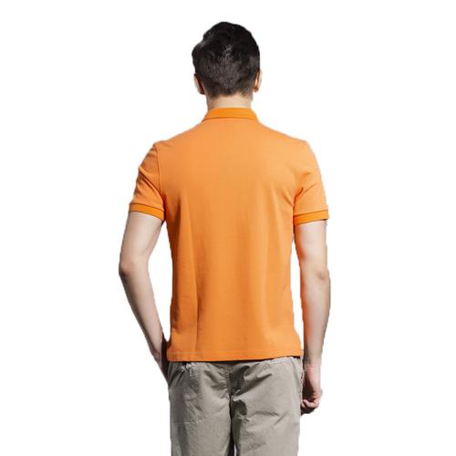Breathable European Mens Polo Shirt Image 2