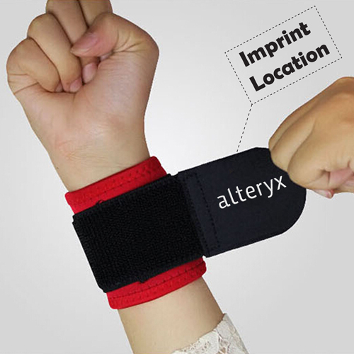 Adjustable Wrist Protector Wristband Imprint Image