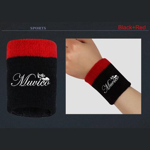 Multicolor Badminton Sports Wristband Image 2