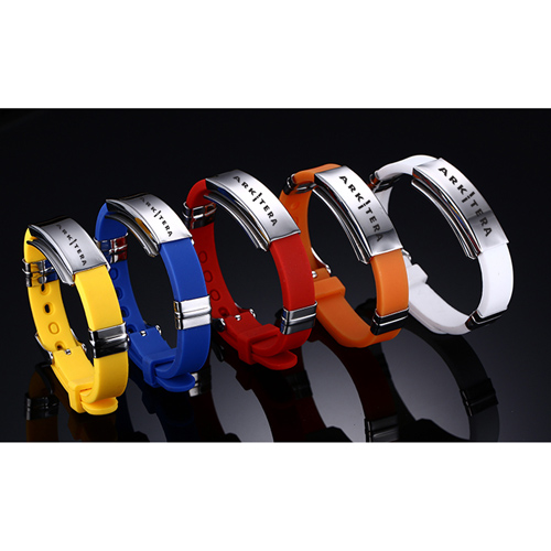 Environmental Rubber Sports Bracelet Image 1