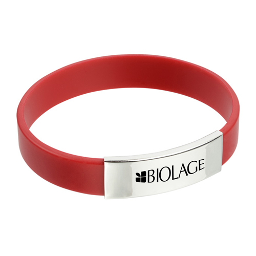 Metal Accent Wristband