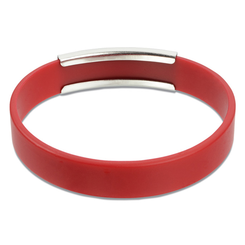 Metal Accent Wristband Image 1