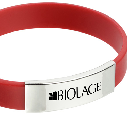 Metal Accent Wristband Image 3