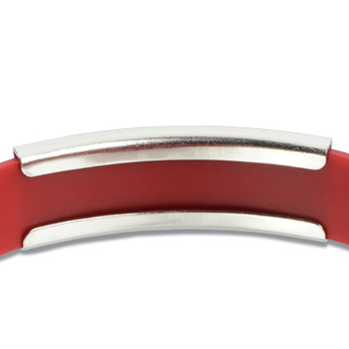 Metal Accent Wristband Image 4