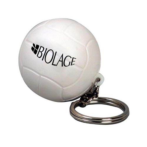 Volleyball Stress Key Chain