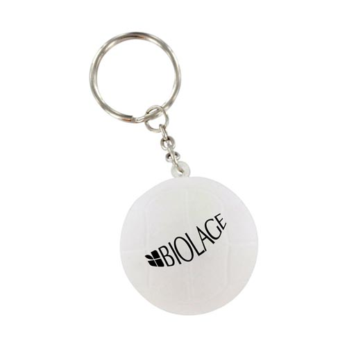 Volleyball Stress Key Chain Image 1