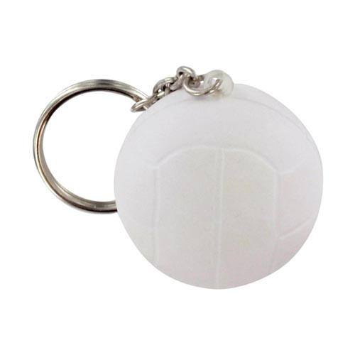 Volleyball Stress Key Chain Image 2