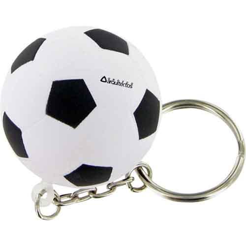 Soccer Ball Keychain Image 1