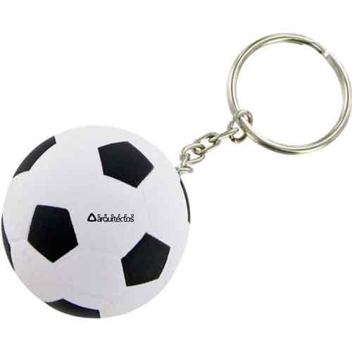Soccer Ball Keychain Image 2