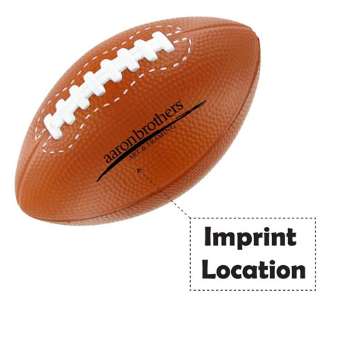 Football Stress Reliever Imprint Image