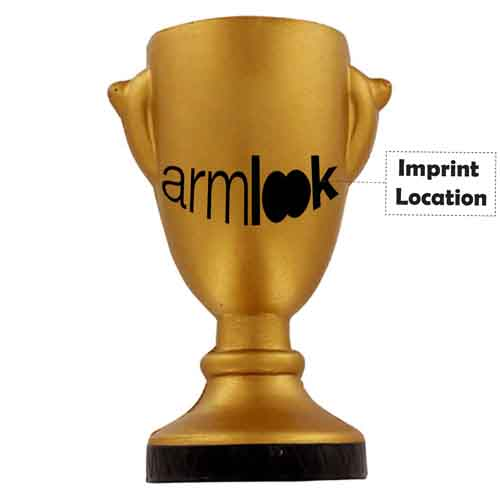 Stress Reliever Trophy Imprint Image