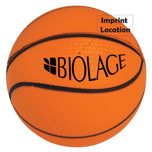Sports Ball Stress Relievers Imprint Image