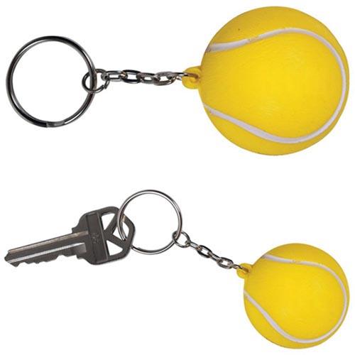 Key Chain Tennis Stress Ball