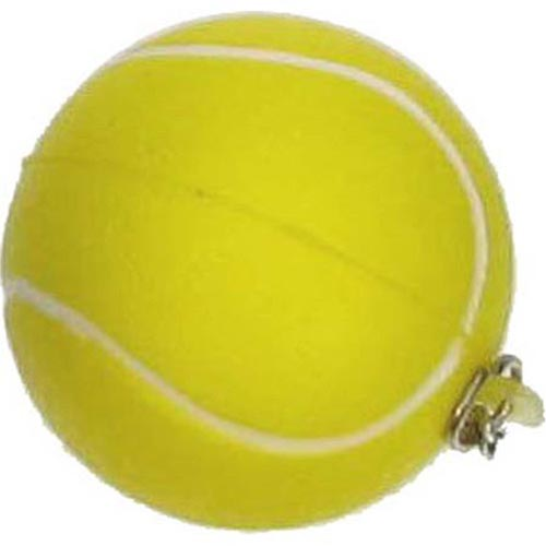 Key Chain Tennis Stress Ball Image 1