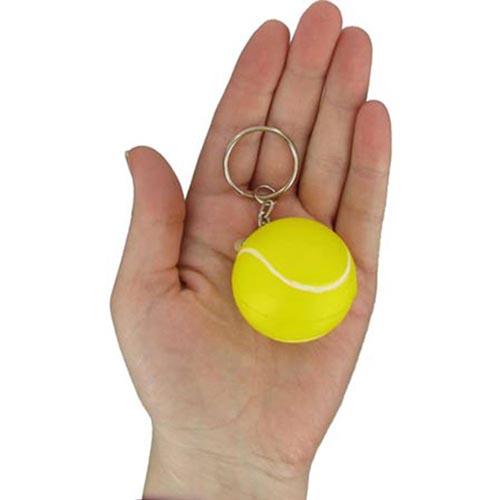 Key Chain Tennis Stress Ball Image 3