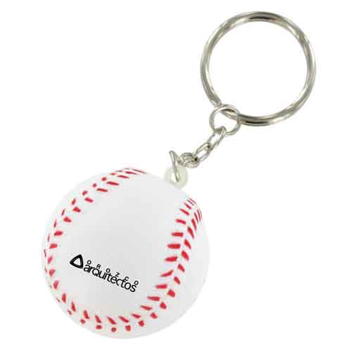 Stress Baseball Key Chain