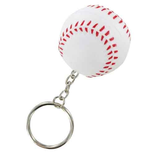 Stress Baseball Key Chain  Image 1