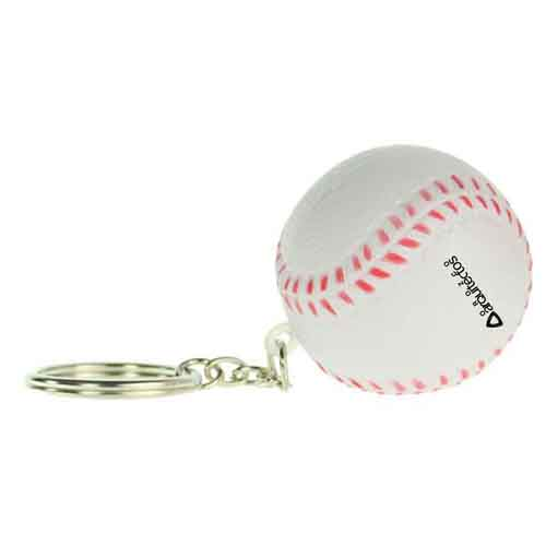 Stress Baseball Key Chain  Image 2