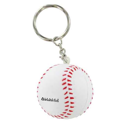Stress Baseball Key Chain  Image 3