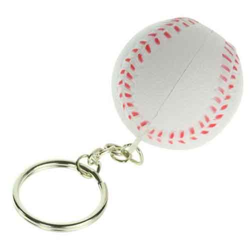 Stress Baseball Key Chain  Image 4
