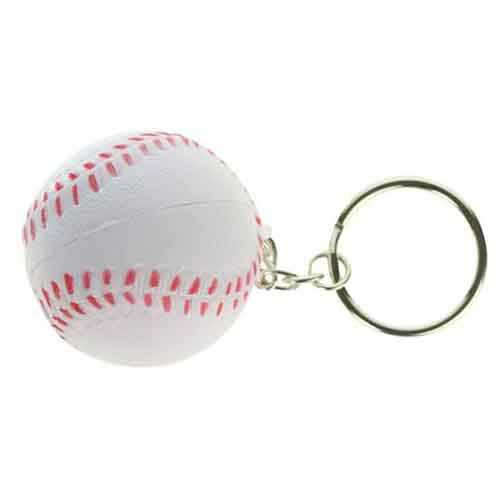 Stress Baseball Key Chain  Image 5