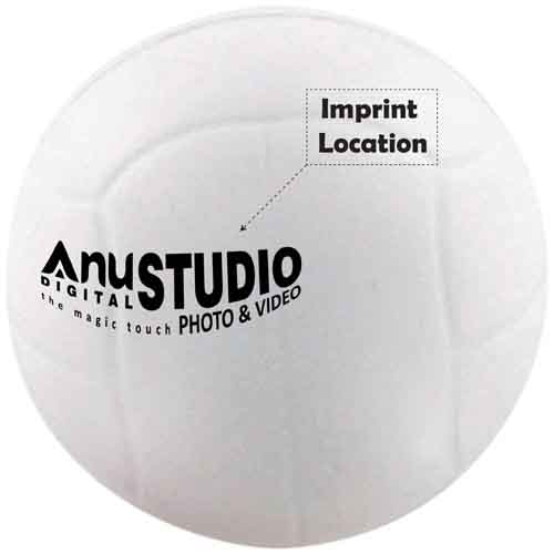 Stress Reliever Volley Ball Imprint Image