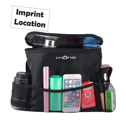 Mesh Pockets Seat Bottle Bag Imprint Image