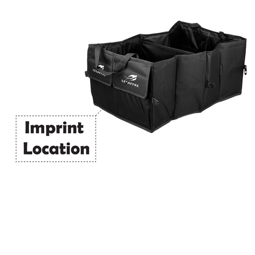 Auto Car Organizer Collapsible Bag Imprint Image