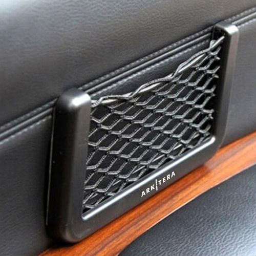 Auto Car Net Phone Holder Image 2