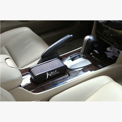 Auto Car Accessories Storage Box With Sticker Image 1