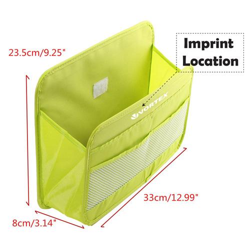 Multifunctional Pocket Car Storage Bag Imprint Image
