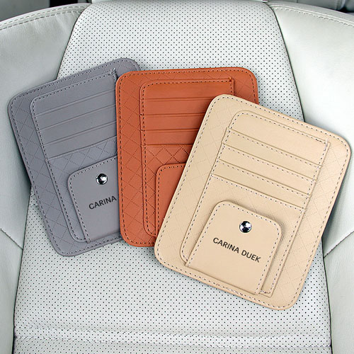 Multifunction Hanging Car Card Bag Image 1