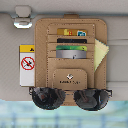 Multifunction Hanging Car Card Bag Image 3