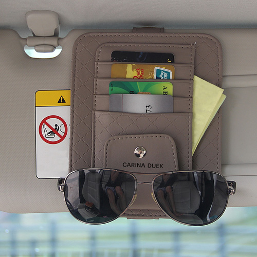 Multifunction Hanging Car Card Bag Image 4