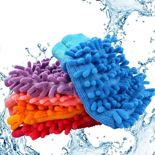 Microfiber Car Washing Mitt Image 1
