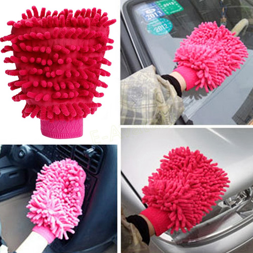 Microfiber Car Washing Mitt Image 5
