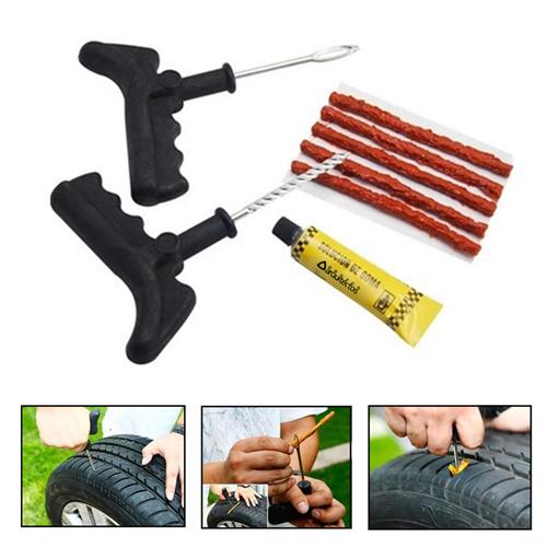 Tubeless Tire Puncture Repairing Tool