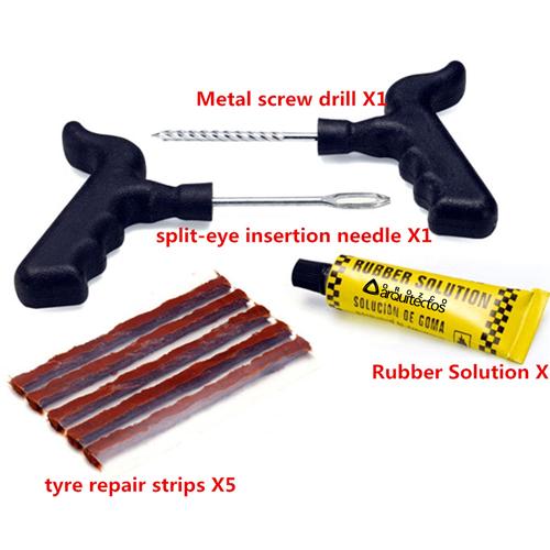 Tubeless Tire Puncture Repairing Tool Image 1