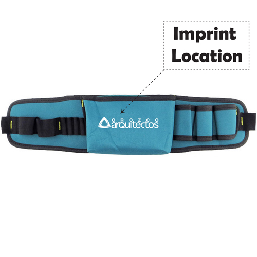 Multifunctional Oxford Electrician Belt Imprint Image