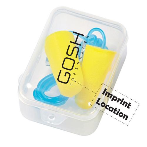 Promotional Ear Plug Set Imprint Image