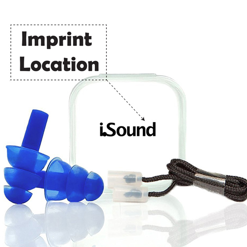 Noise Reducing Ears Plugs Imprint Image