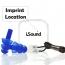 Noise Reducing Ears Plugs Imprint Image