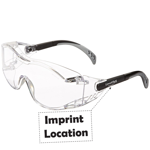 Safety Cover Glasses Imprint Image
