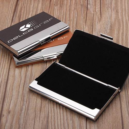 Stainless Steel Business Bank Card Case Image 1