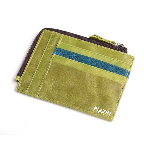 Leather Simple Credit Card ID Holder Image 2