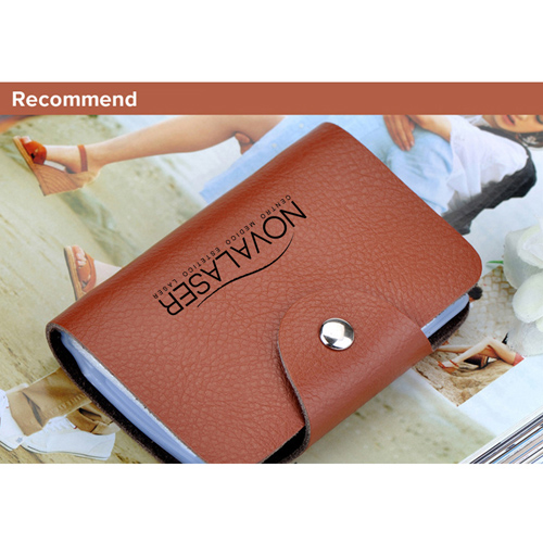 Cow Leather Credit Card Holder Image 2