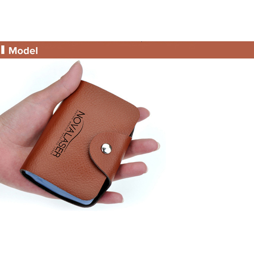 Cow Leather Credit Card Holder Image 3
