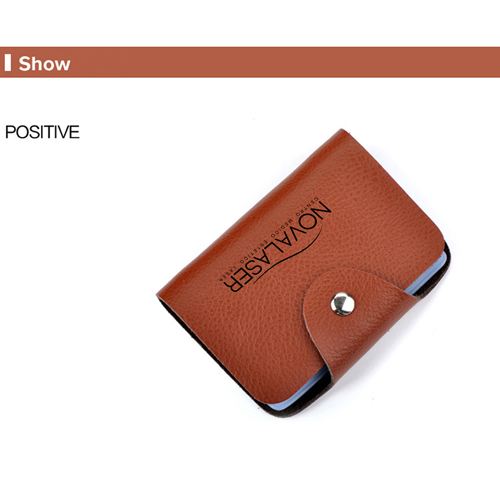 Cow Leather Credit Card Holder Image 4